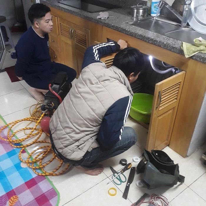 Sửa chữa điện nước tại khu đô thị Việt Hưng, Long Biên, Hà Nội