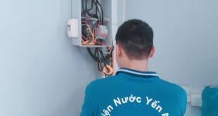 Sửa chữa điện nước tại khu chung cư Thanh Hà