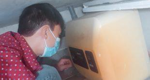 Thợ sửa bình nóng lạnh tại bán đảo Linh Đàm